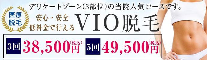 V.I.O脱毛(デリケートゾーン)